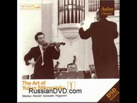 Yulian Sitkovetsky plays La Campanella by Paganini