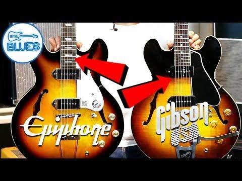 Epiphone Casino vs Gibson ES-330 VOS Custom Shop
