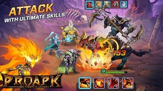Legends at War! Gameplay Android / iOS