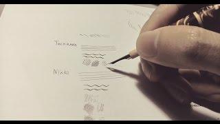 maru nib review (tachikawa, nikko, mantian) and eiem manga paper