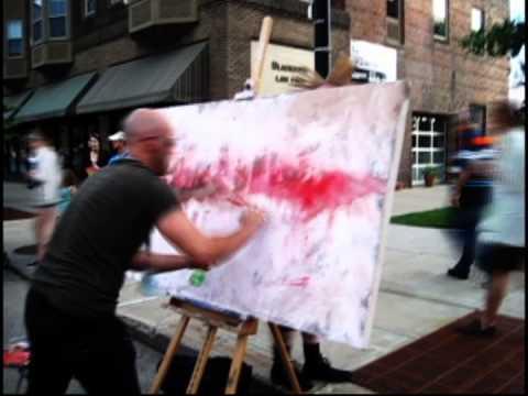 Des Moines Arts Festival Demo