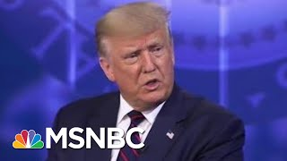 Trump Again Says Virus Will Disappear, Discusses 'Herd Mentality' | Morning Joe | MSNBC