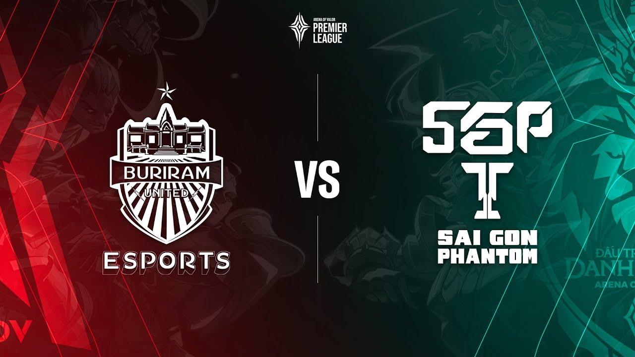 Buriram United Esports vs Saigon Phantom [Tứ kết 4 - 19.07.2020] - APL 2020