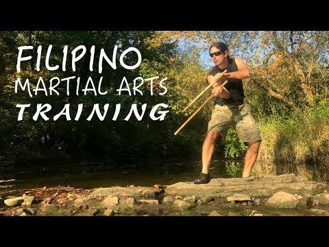 Paul Ingram's Morning Kali Workout Routine: Filipino Martial Arts & VLOG