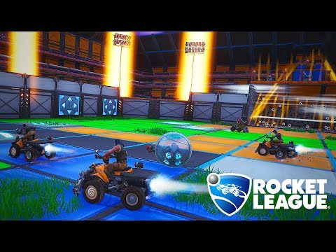 My friend said he could make Rocket League in Fortnite - I didn't believe him thumbnail