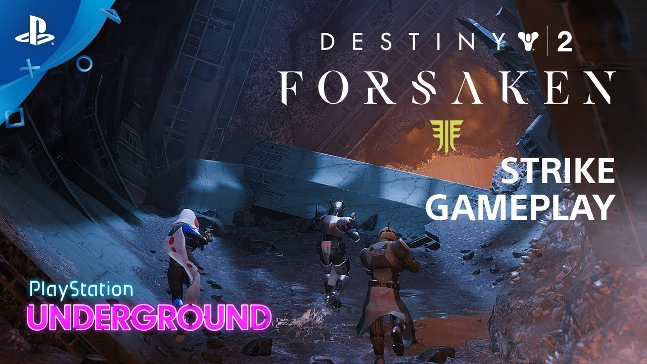 Destiny 2: Forsaken - Broodhold Strike Gameplay | PS Underground