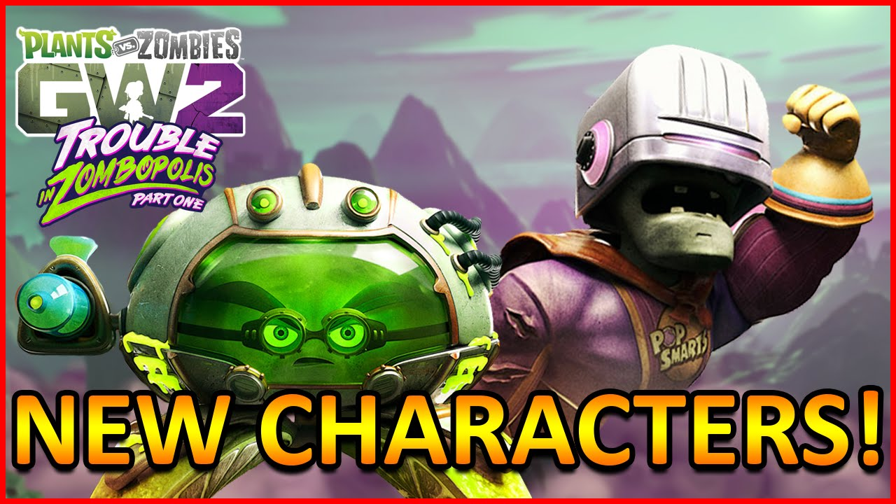 Citron from plants vs zombies garden warfare 2 plants vs zombies -  New Characters Toxic Citron And Breakfast Brainz Plants Vs Zombies Garden Warfare 2 Youtube