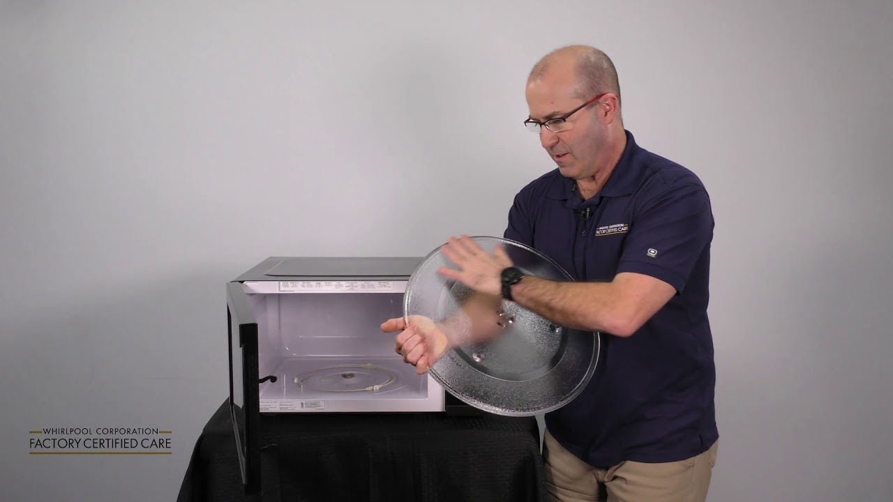 microwave turntable assembly explained