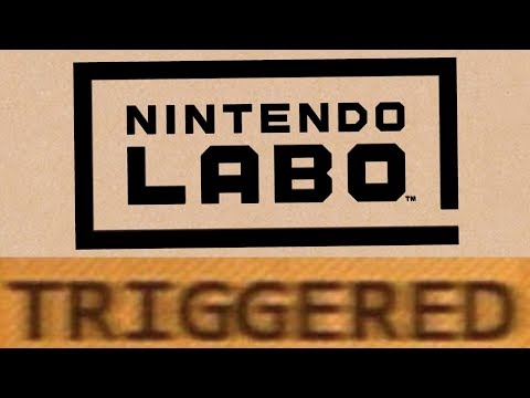 How Nintendo Labo TRIGGERS You!