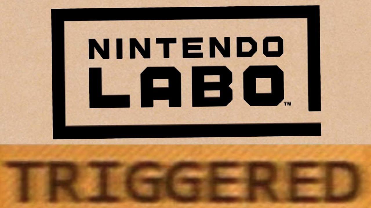 How Nintendo Labo TRIGGERS You!