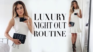 luxury night out routine   lydia elise millen   ad