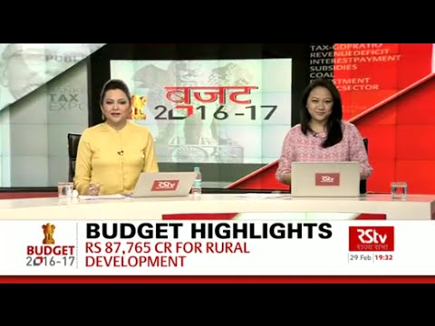 Union Budget 2016-17 | Irrigation & Farm Sector