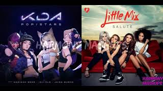 KDA vs. Little Mix-