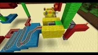 Mouse Trap in Minecraft