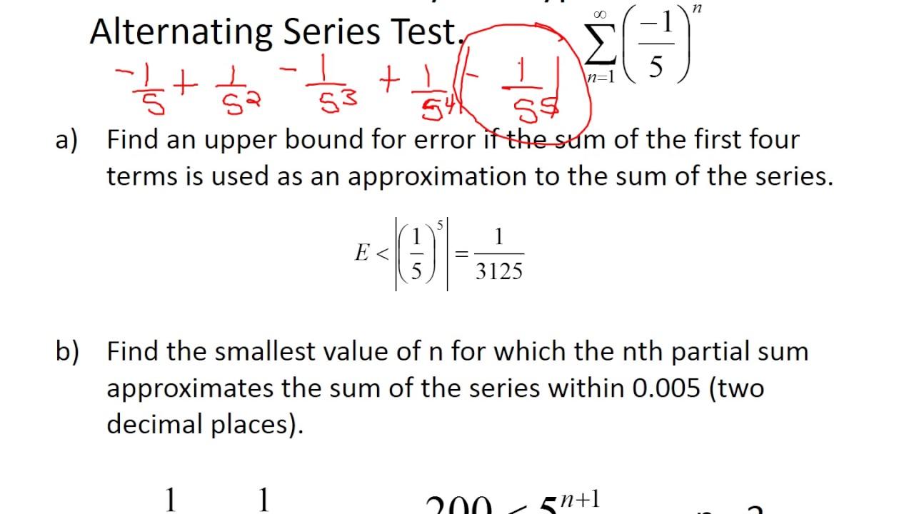 estimation theorem