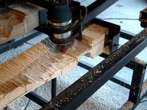 Fabrication d 39 une pale d 39 olienne 6 usinage du 2e c t youtube - Fabrication d une eolienne ...