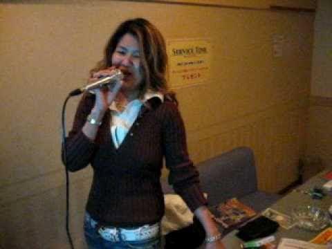 In karaoke - Okayama march 2006