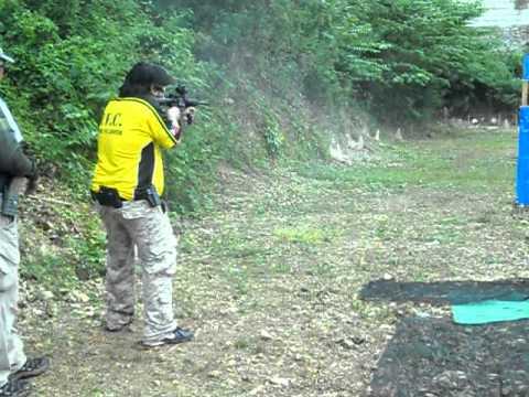 Art Yap Cup 2011 Alphazone shooting range Bohol Rifle Stage 1