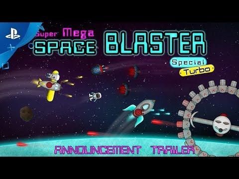 Super Mega Space Blaster Special Turbo - Announcement Trailer | PS4