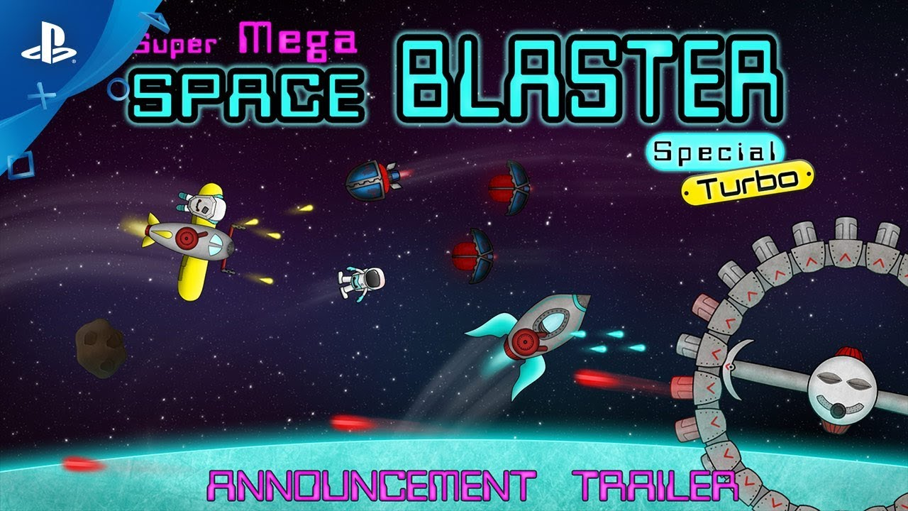 Super Mega Space Blaster Special Turbo - Announcement Trailer | PS4