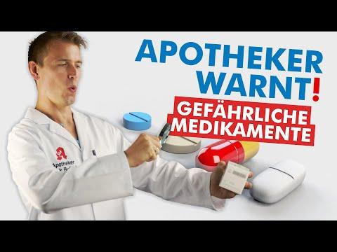 Die GEFÄHRLICHSTEN Medikamente! (Ein Apotheker packt aus)