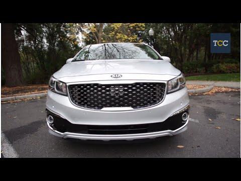 kia sedona and car feature design drive review price