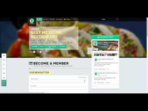 Web design Fort Wayne - Joomla - Website - el Azteca Restaurant