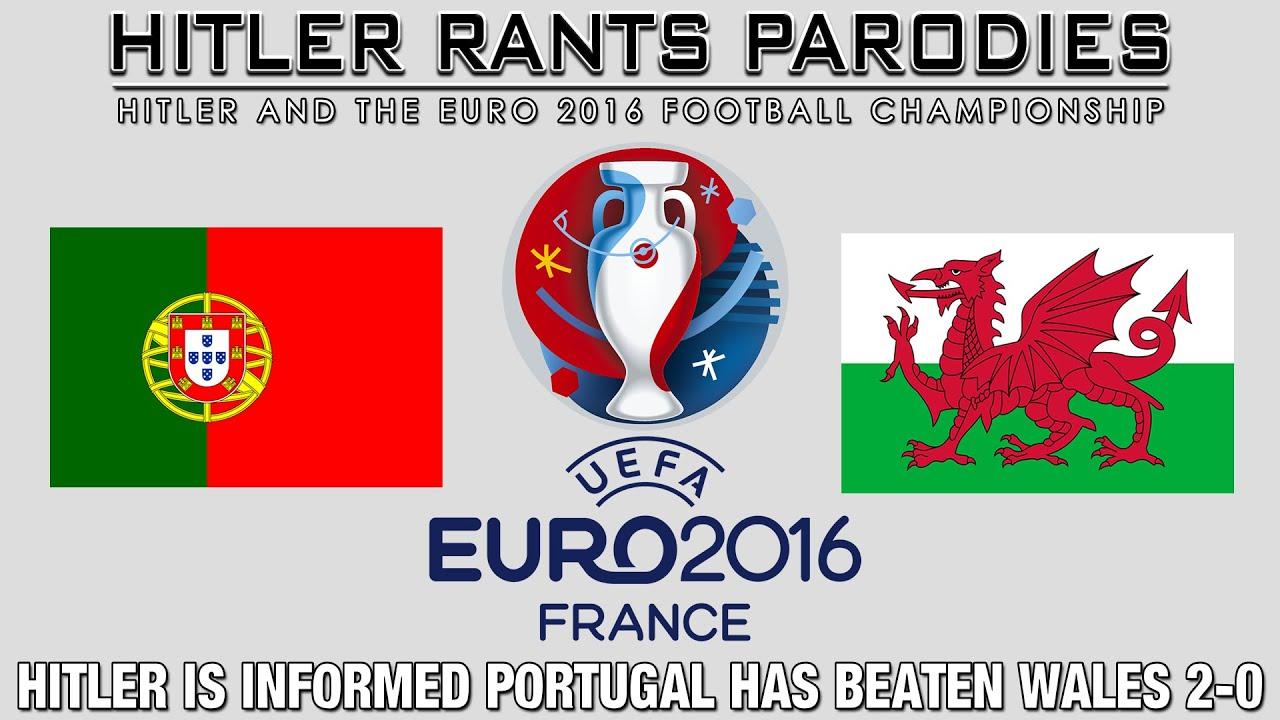 Hitler is informed Portugal has beaten Wales 2-0