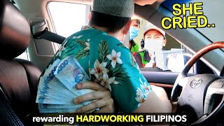 Tipping ₱100,000 FREE MONEY to Drive Thru Crews 🙌🇵🇭