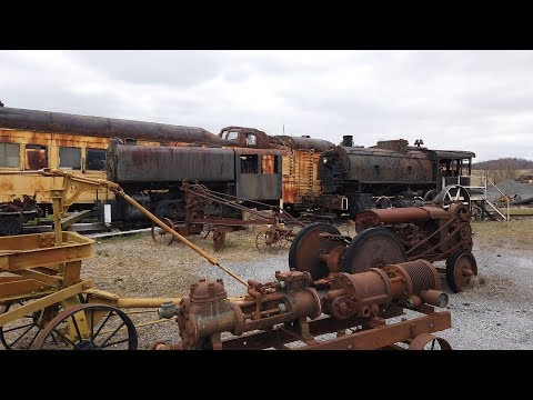 The Geigertown Central Railroad; A Cool Collection Of Railroad Equipment And Early Machinery