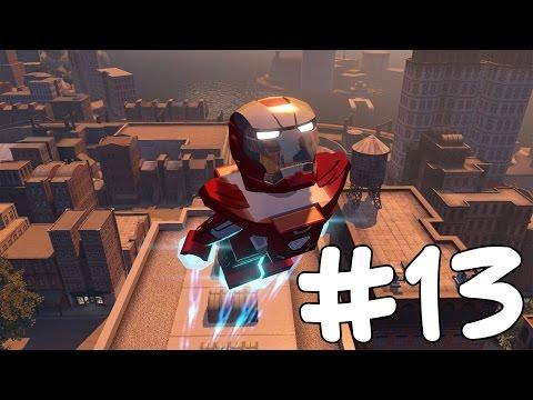 IRON MAN SUITS CHAPTER 2 - LEGO Marvel's Avengers Free Roam - Part 13(Türkçe Gameplay) HD