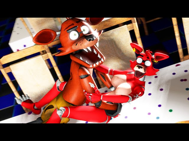 Sfm fnaf wild foxy parties hard gone wrong five for Russian foxy