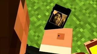 vuclip Achievement Hunter Minecraft Animation:the fuck train has no brakes