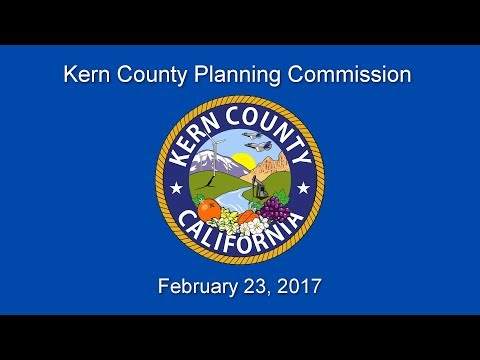 Kern County Planning Commission for February 23, 2017