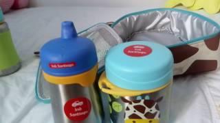 Material escolar #3: Maternal I - Integral. Mochilas Skip Hop Zoo Girafa