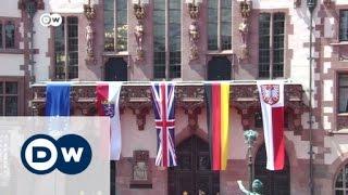 زيارة ملكة بريطانيا لمدينة فرانكفورت | الأخبار