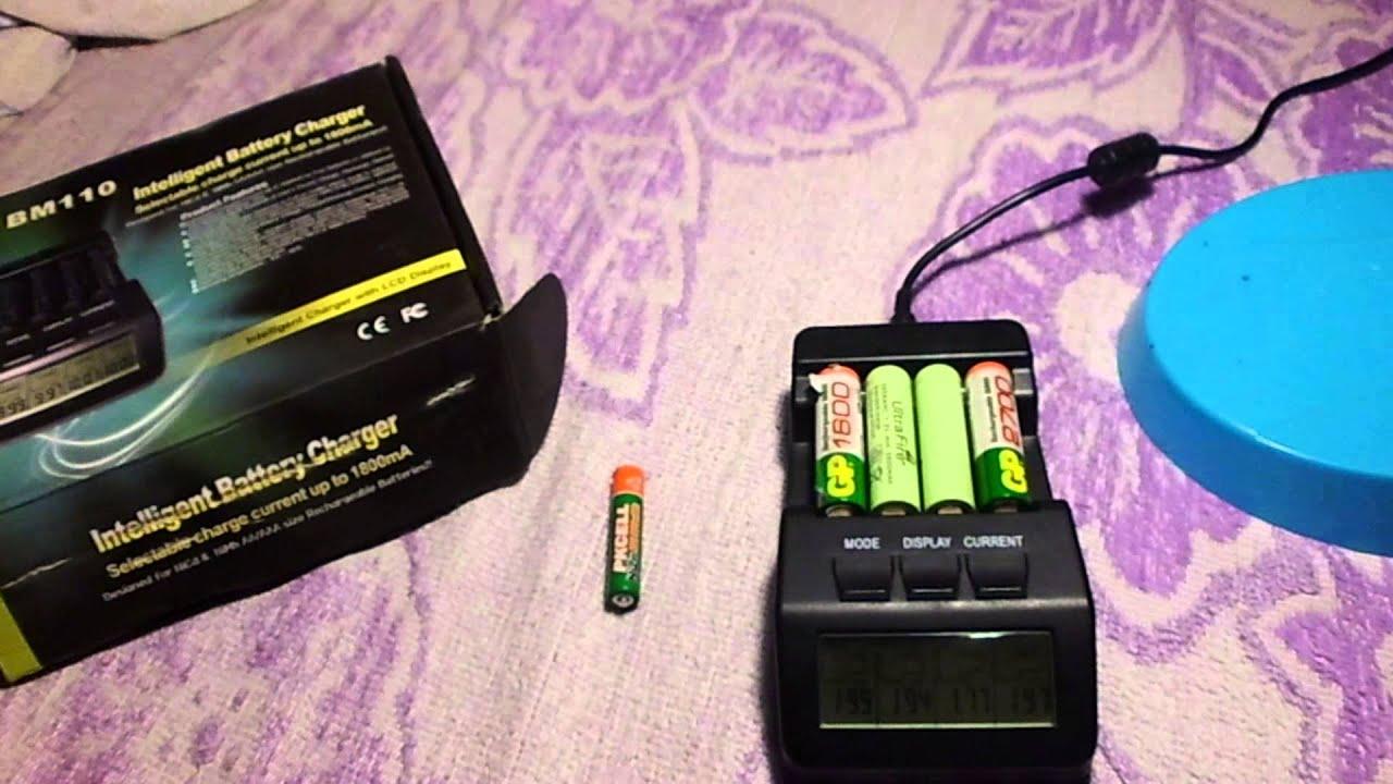 NiCd аккумуляторы восстановление и ремонт