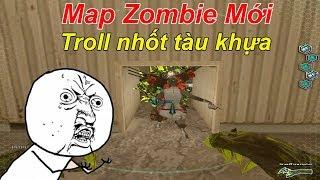 [ Bình Luận CF ] Test Map Zombie Mới Troll Nhốt Trẻ Trâu CFQQ