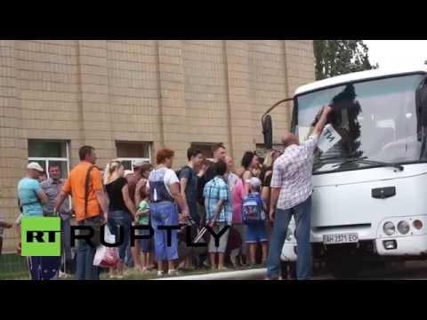 Ukraine: Children evacuated