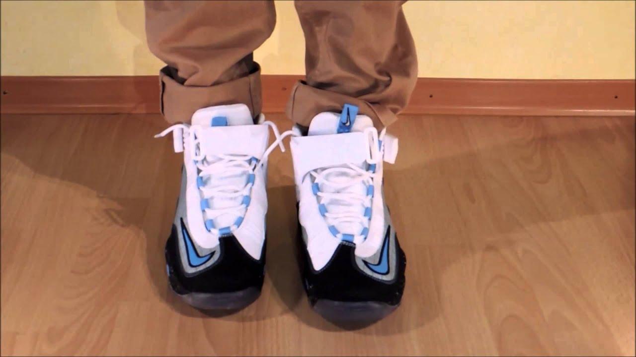 new products 092e6 56c98 Nike Air Griffey Max 1 Premium NYC - Metallic Silver   University Blue on  feet