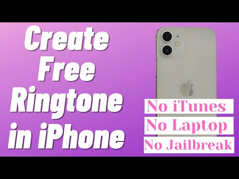 How to setup ringtone on iphone without itunes
