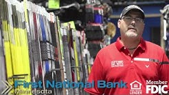 First National Bank Minnesota - Testimonial video from Play It Again Sports