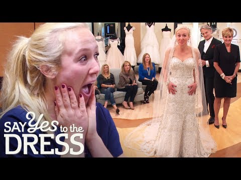 Lori Surprises Nurse At Work & Helps Her Find A Dream Dress! | Say Yes To The Dress Atlanta