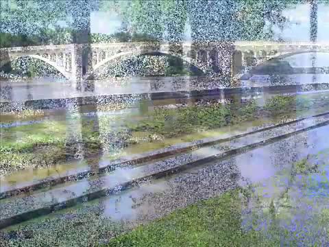 Midwest flood 2008, Vincennes Indiana Wabash River