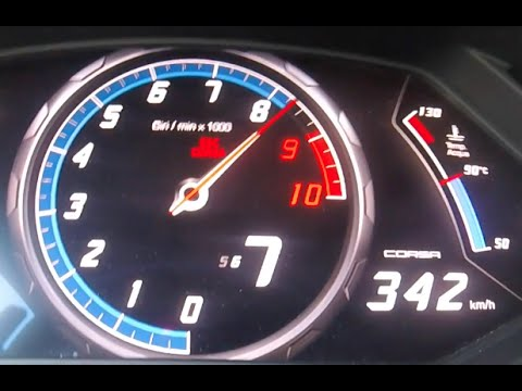 Lamborghini huracan top speed mph