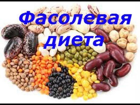 Фасолевая диета На 7 дней - СБАЛАНСИРОВАННАЯ!