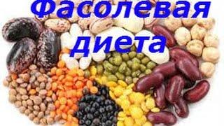 Фасолевая диета На 7 дней сбалансированная