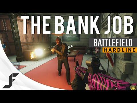 The Bank Job - Heist Battlefield Hardline Gameplay