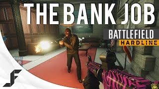 The Bank Job - Heist Battlefield Hardline Gameplay