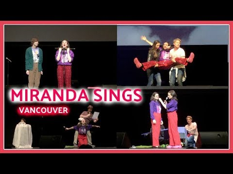 MEETING COLLEEN BALLINGER/Miranda Sings Show VANCOUVER FT. HATERS BACK OFF CAST